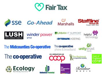 Fair Tax Mark businesses