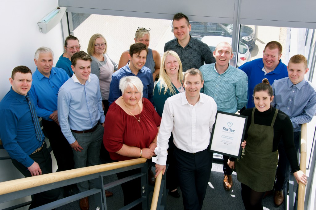 Scotmid Co-operative celebrates its Fair Tax Mark