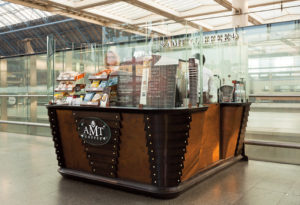 An AMT coffee outlet
