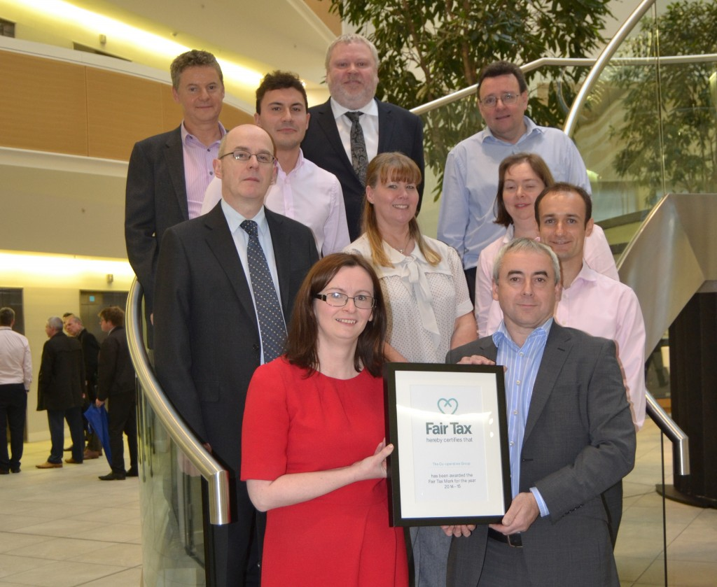 The Co-operative Group receive their accreditation