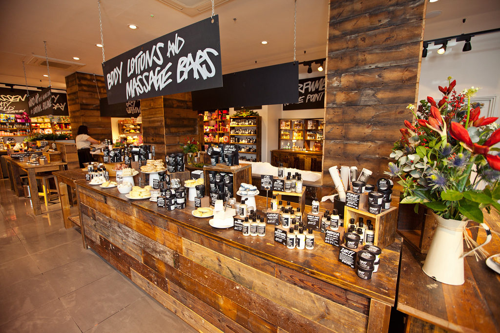 Lush store in Liverpool