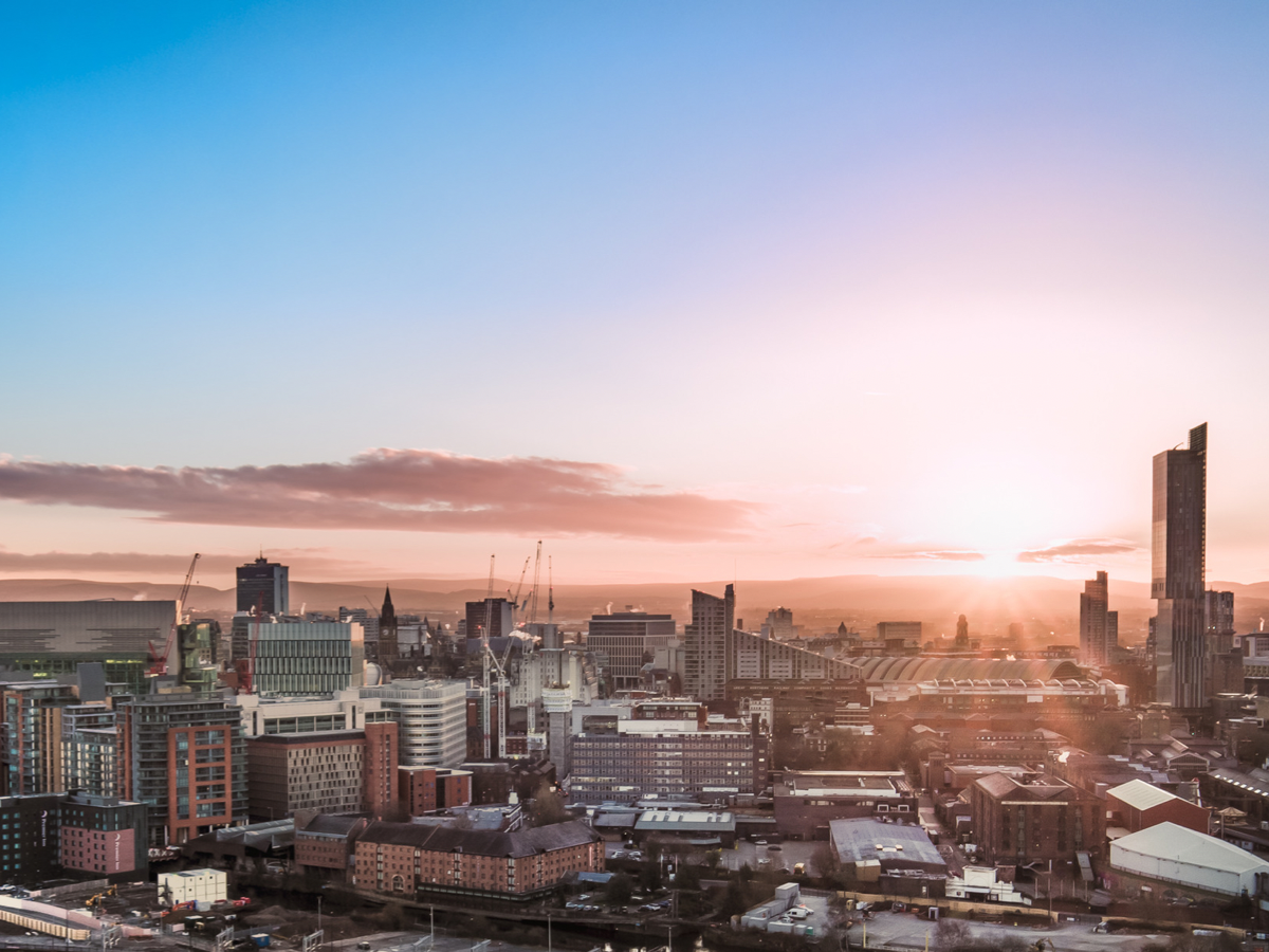 Image of Manchester city centre
